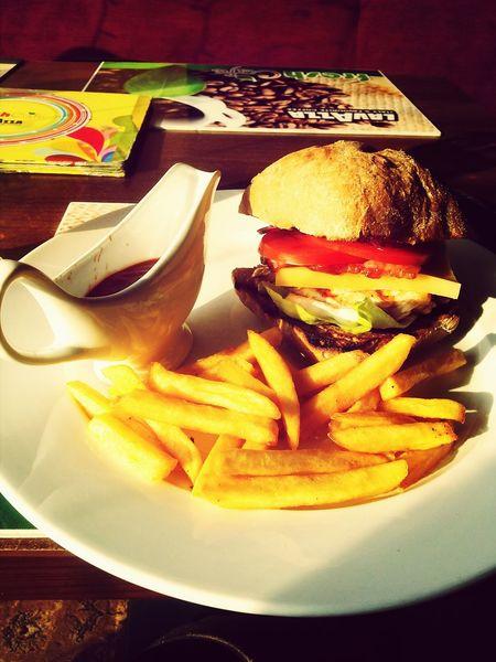 Foodporn French Fries Humburger Foodgasm