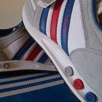 Todaysdrop AdidasLAtrainer Adidasoriginals Adidas Teamtrefoil Trefoilonmyfeet Adorethestripes