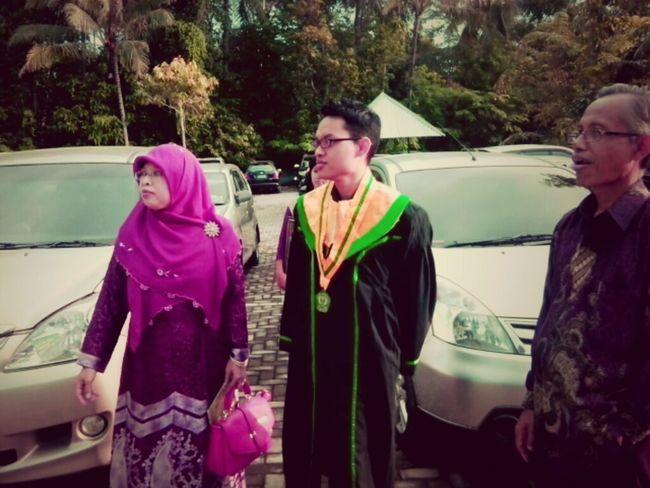 Happy graduation, dear...