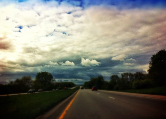 On The Road Clouds And Sky Cloudporn Sky_collection