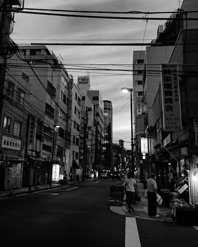Sunset Dramatic Sky Night Nightlife Neon City Architecture People Sky Cityscape Blackandwhiteonly Black And White Collection  Monochrome World Cityscape Architecture City Blackandwhitephotos Blackandwhitephoto Blackandwhite Photography Blackandwhite