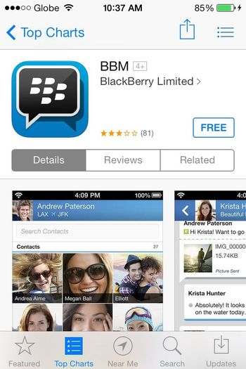 For thise BBM lovers!
