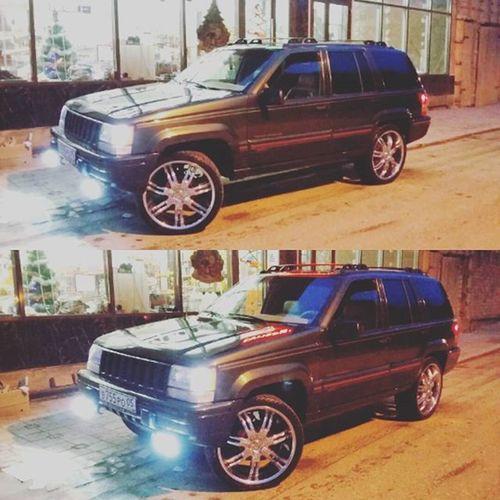 Jeepgrandcherokeeclub Zjlove Zjfamily Zjmafia Grandcherokee  ZJ Grandzj Dubstyle Vctwheels R22 Dagestan Kaspiysk V8 Chrom Jeepzj