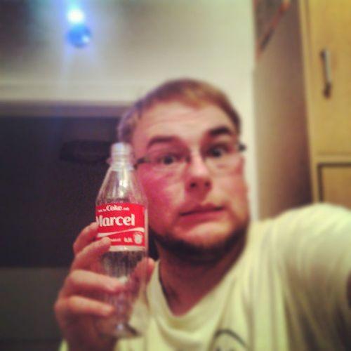 Also doch mit mir selbst ^^ TrinknecokemitMarcel Coca -Cola Coke Geschenk endlichistmeinnameauchaufderscheisscolaflasche MeineCoke iamawsome
