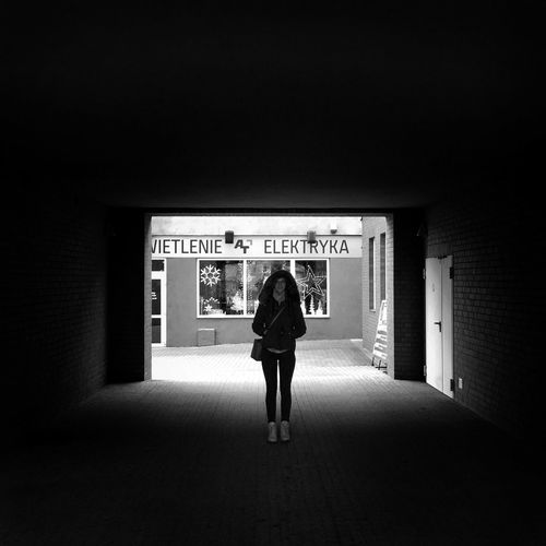 City Shelters Wejherowo 5 December 2015 IPhoneography Iphone 6 Plus Darkness And Light Dark Streetphoto_bw Streetphotography Silhouette Poland Wejherowo EyeEm Masterclass EyeEm Best Shots Bnw Bnw_collection
