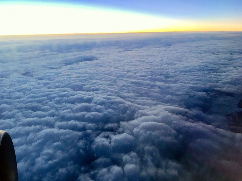 Sky And Clouds The Week on EyeEm Aerial View Air Vehicle Airplane Airplane Wing Background Backgrounds Beauty In Nature Cloud - Sky Cloudscape Day Flying Nature No People Outdoors Scenics Sky Sky Only Skyporn Sunrise The Natural World Tranquil Scene Tranquility Transportation
