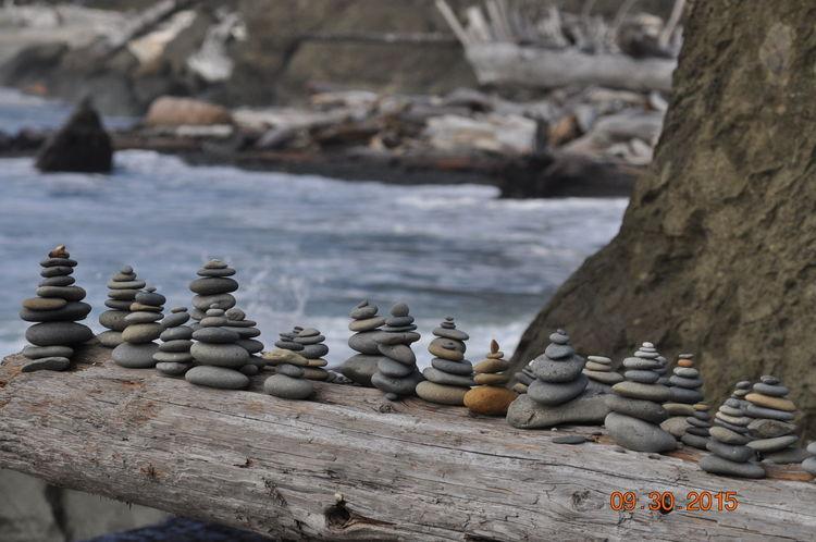 Deceptively Simple Rockstacking Stackedstones Rubybeach Washington