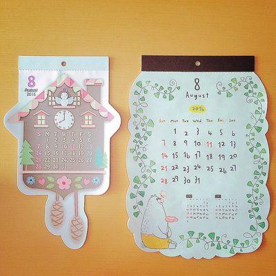 よろしくオーガスト🌻 カレンダー Calendar 八月 8月 オーガスト August