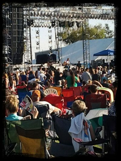 Concert Frankie Ballard onstage at Jugfest