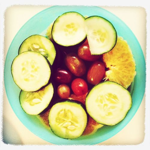 a fresh and yummy food, equals good health Fruit Orange Fruits Grapes Getting In Shape Tropical Fruits Cucumber