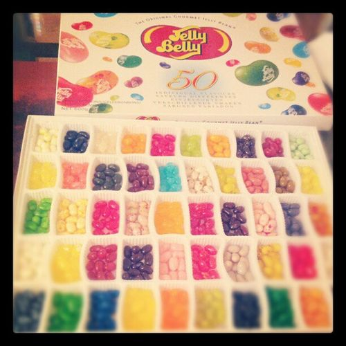 Guess who couldn't resist.. Jellybellys Yummy Delicious Colorful Jellybeans