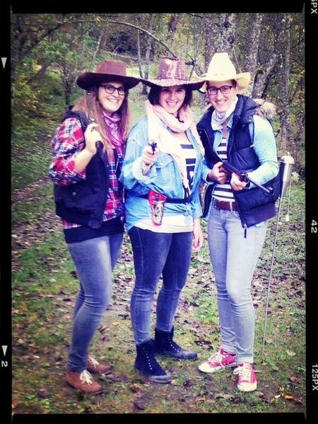 Mottoparty Cowgirl Fun Friends