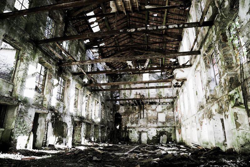 ruin in italy.