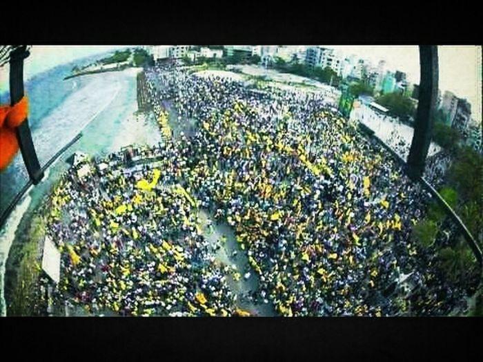 Protesters In Maldives