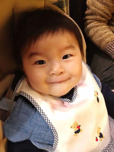 he also drank vegetable juice 😋✨ Looking At Camera Healthy Eating Babyhood Childhood Innocence Mysweetbaby