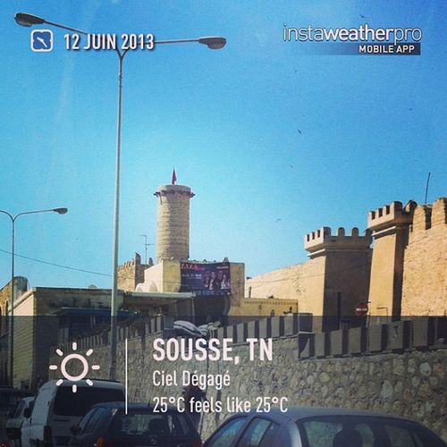 Weather Instaweather Instaweatherpro Sky outdoors nature instagood photooftheday instamood picoftheday instadaily photo instacool instapic picture pic @instaweatherpro place earth world sousse tunisie day spring clear skypainters tn