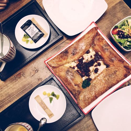 Always Be Cozy Crêpes Crêperie Food And Drink Foodporn Foodphotography Food Photography Vietnam Hanoi European