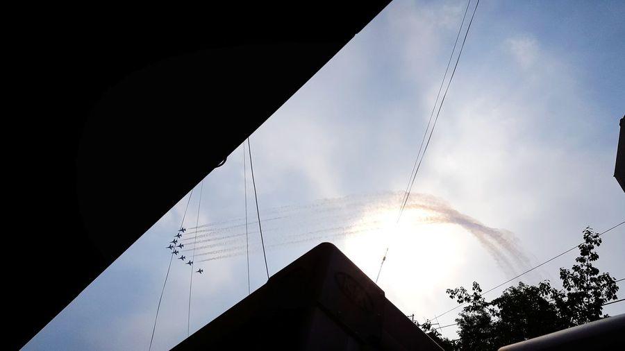 하늘 바람 행복