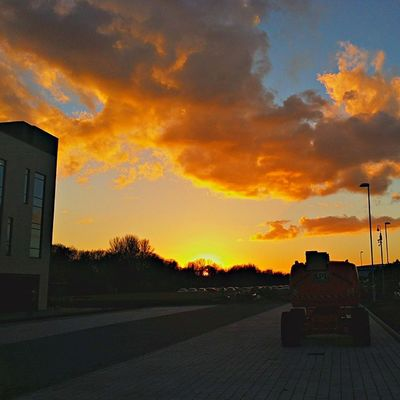 Finished work for the day Stockport Igersmcr Sunset