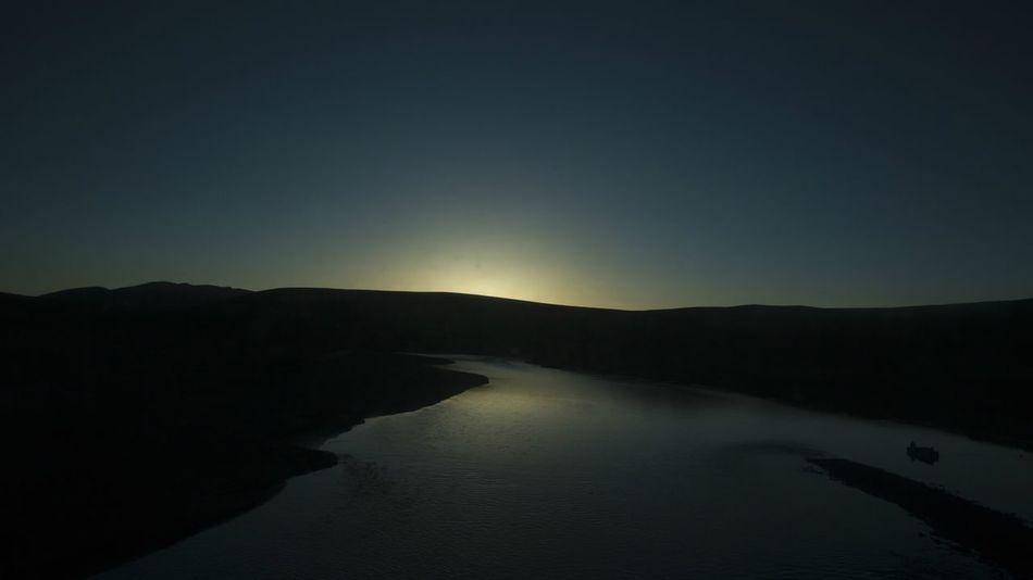 The way to Tibet Tibet Travel Train Sun Rise Lake Snow ❄ AI Now