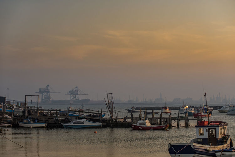 South Gare harbor. North east coast of England. Teesside Redcar Uk England Sunset Sunset_collection Sunset #sun #clouds #skylovers #sky #nature #beautifulinnature #naturalbeauty #photography #landscape Sunsets Yorkshire North Yorkshire Boats Boat Water Harbour South Gare Boats⛵️ Boats And Water Boats And Moorings Harbor Europe European  North East Coast Coast Portrait