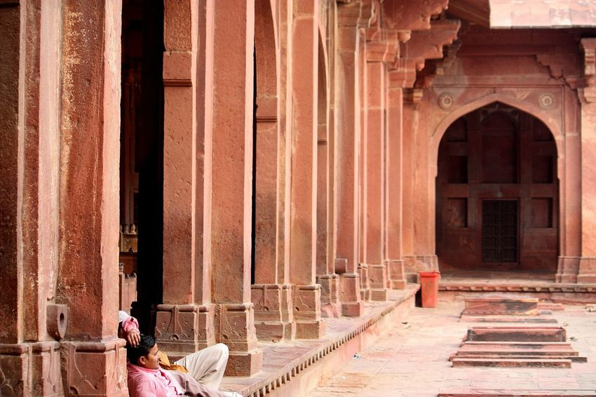 Architecture Building Exterior Built Structure Day Fatehpur Sikri Historical Historical Sights History India Mughalarchitecture MughalStyle Uttar Pradesh