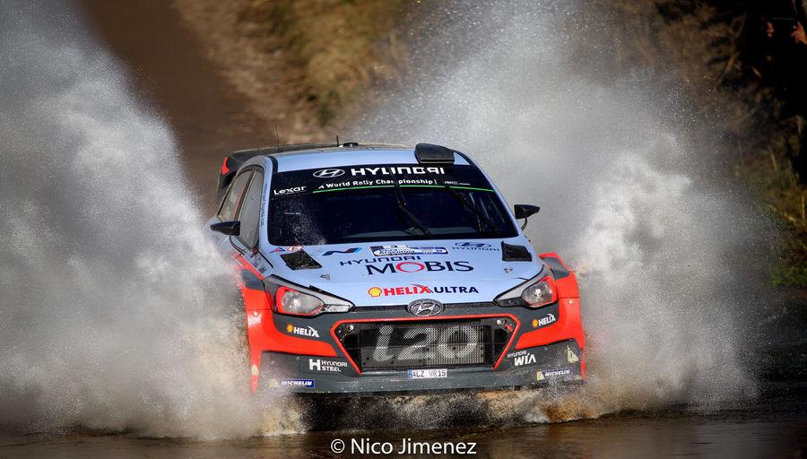 Acción Agua Canon Hyundai Rally Rallye Vadodara Water Worldrallyca Worldrallycar Wrc