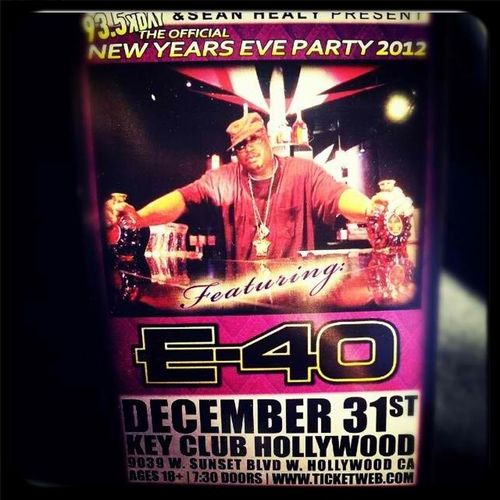 #TurnUp My Boy Gupp Opens Up For E-40 New Years #OYUP