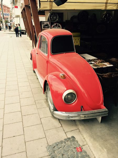 Woswos Beatle Red So Cute