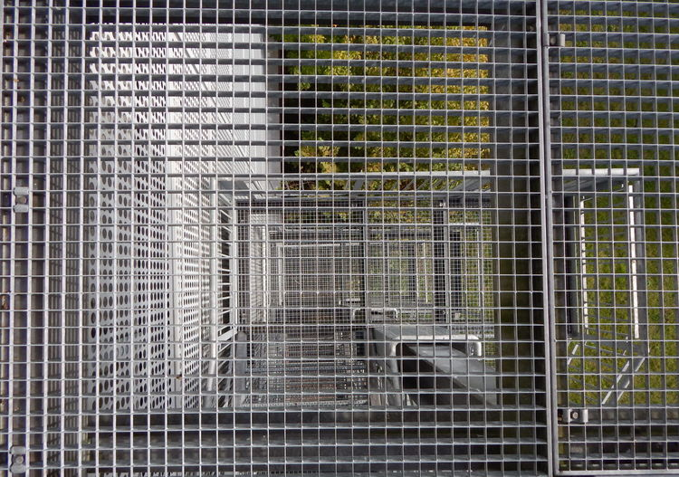 Architecture Close-up Day Flying High Gitter Metal No People Outdoors Stahltreppe Stairs Steel Steel Stair Treppe Treppenhaus