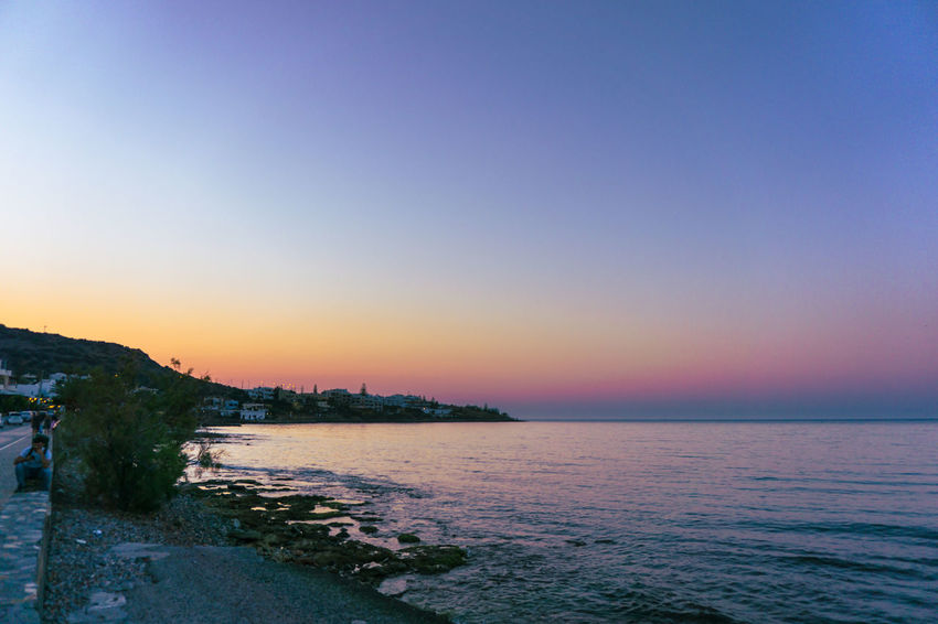 Beach Beauty In Nature Clear Sky Day Horizon Over Water Nature No People Outdoors Scenics Sea Sky Sunset Tranquil Scene Tranquility Water