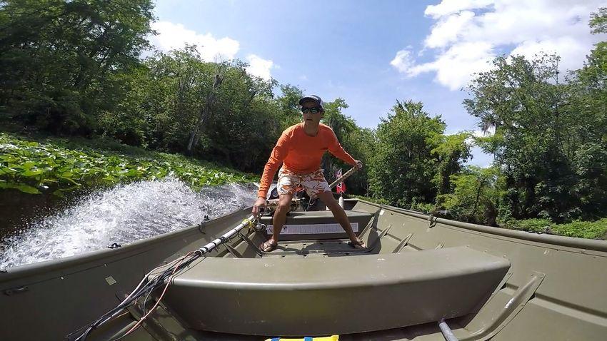 Gopro Boat Jon Boat Wekiva River Mercury