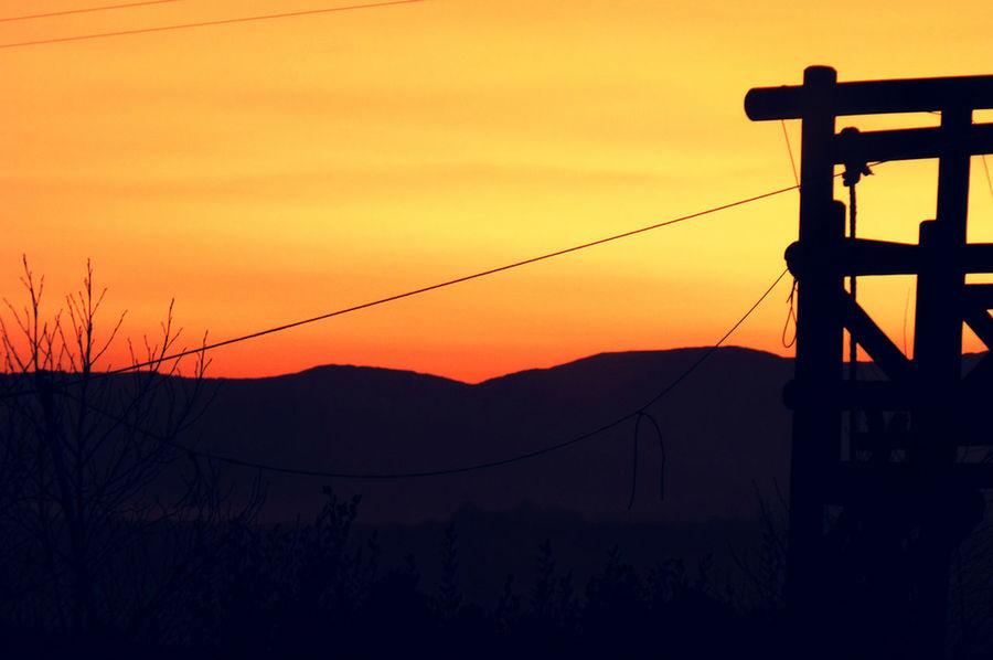 Sunset Evening Sky Dusk Travel Explore Adventure Outdoor Sky Warmth