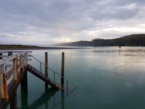 Sea Water Horizon Over Water Nature EyeEmNewHere Beauty In Nature Wharf Raglan Nz Unedited New Zealand Photography