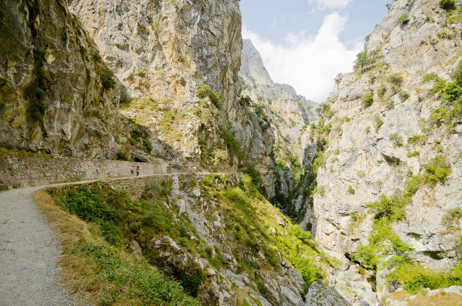 Arid Climate Canyon Cliff Day Eroded Exploring Geology Moss Mountain Nature Physical Geography Rock Rock - Object Rock Formation Rocky Rocky Mountains Rough Picos De Europa Rutadelcares