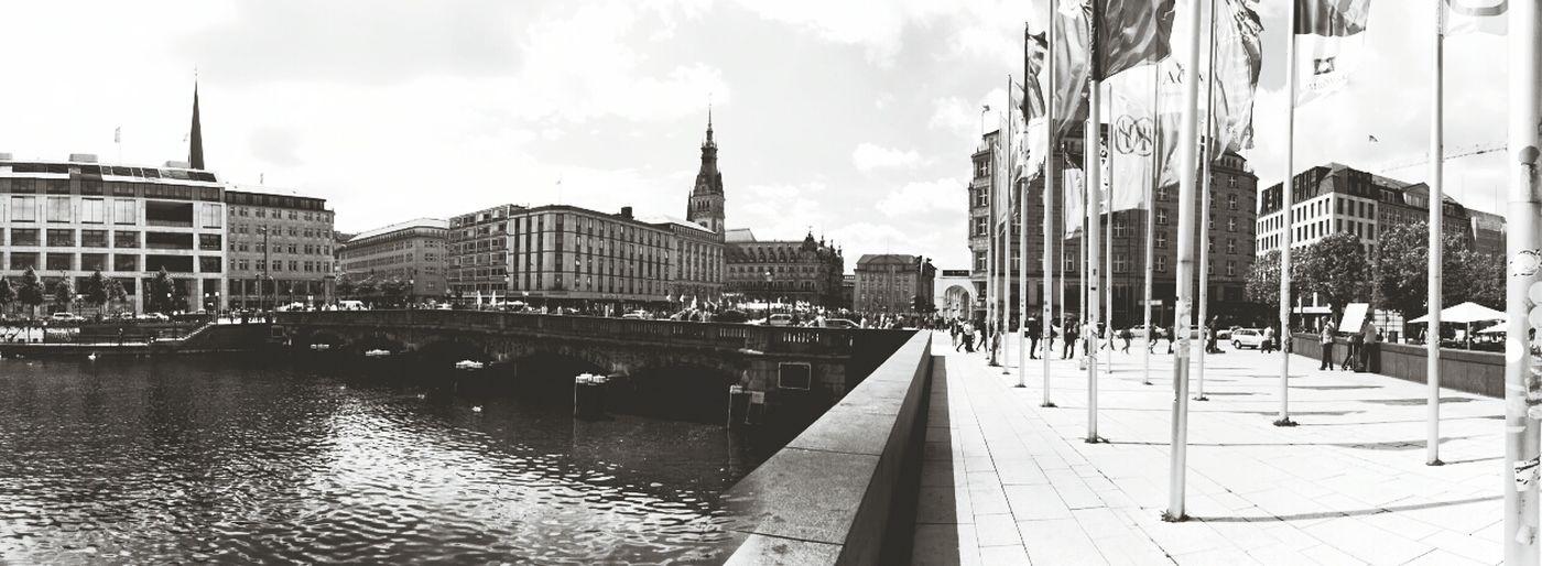 Hamburg Blackandwhite
