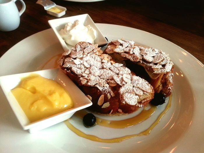 Blessed Sunday Breakfast french toast Happy Time Relaxing