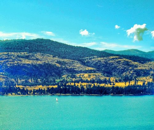 Protecting Where We Play Lake Roosevelt Washington USA Sailboat Lake