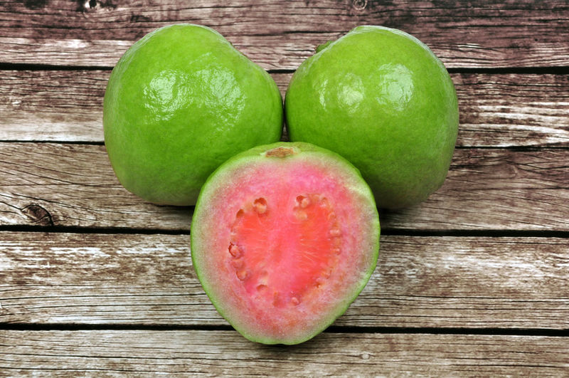 Guava Fruit in White Background ASIA Brazil Close-up Food Food And Drink Freshness Fruit Green Green Color Guava  Guava Fruit Healthy Eating Healty Food Healty Fruit INDONESIA Juicy Juicy Fruit No People Nutrition Pink Pink Guava Raw Food Sweet Vegetable Vitamin