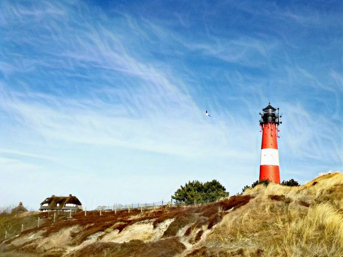 Beautiful Sylt Lighthouse Sky Nature Building Exterior Outdoors Beauty In Nature Sand Dune No People Day Sylt Germany Sylt, Germany Sylt Strand Sylt_collection Sylt Beauty In Nature Landscape Germany Connected By Travel