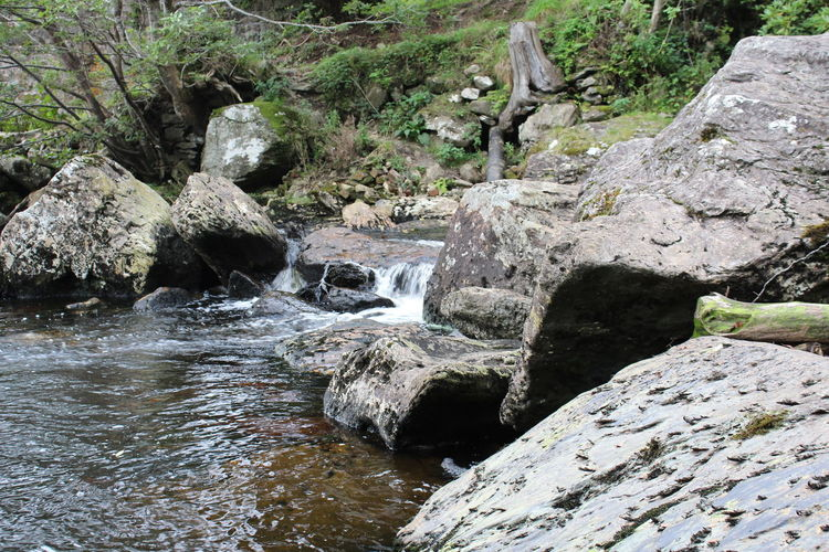 River source Beauty In Nature Motion Nature Outdoors River Source Rock - Object Water Waterfall