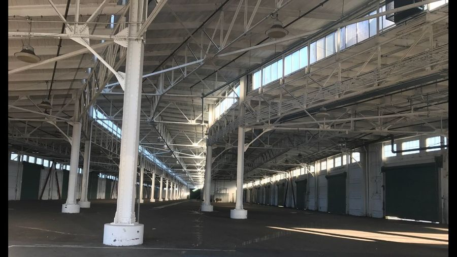 Adapted To The City Port Of San Francisco Pier 48 Interior Shipping And Recieving Ceiling Architectural Column Architecture Built Structure No People Indoors  Factory Day Metal Industry City Transportation San Francisco Shotoniphone7 EyeEmNewHere The City Light Minimalist Architecture The Secret Spaces The Architect - 2017 EyeEm Awards The Street Photographer - 2017 EyeEm Awards