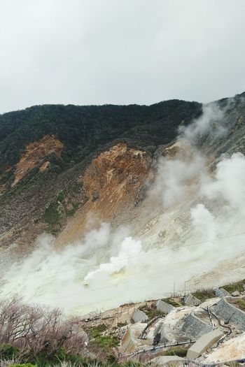 Hakone Cloud - Sky Nature No People Mountain 火山 大涌谷 箱根 Volcano Japan