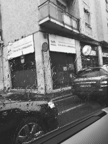 Window Car Transportation Rain Water Day Rainy Season Vehicle Mirror First Eyeem Photo