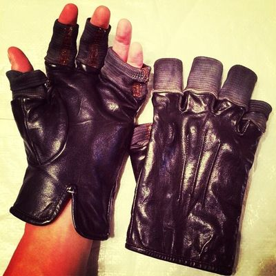 Gloves Biking tried this out. Rough beating!