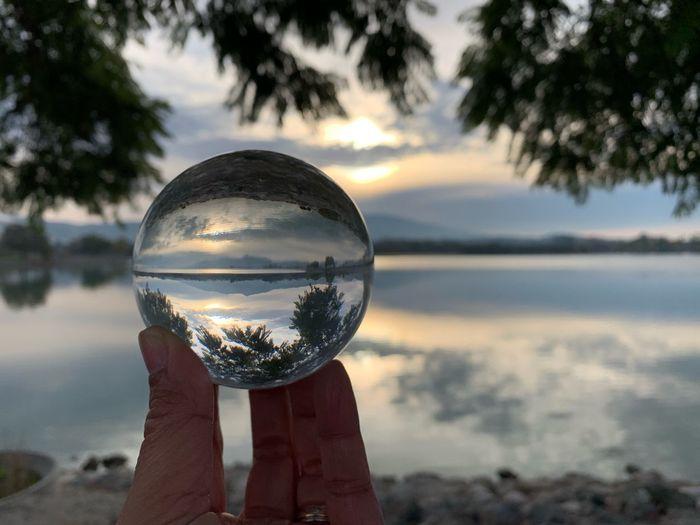 Morning in the Lake Morning Sunrise Lake Elizabeth Fremont
