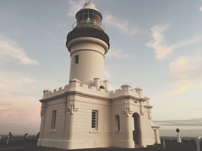 My Favourite place on Earth Summer Ocean Sea Lighthouse Byron Bay Lighthouse Byron Bay Sky Architecture Building Exterior Built Structure Cloud - Sky Building Nature Travel History Tourism Low Angle View Travel Destinations Tower