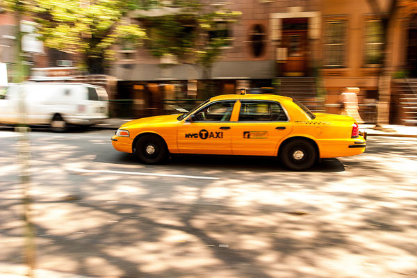 City City Street Mode Of Transport New York On The Move Street Taxi Traffic Vehicle Yellow Cab