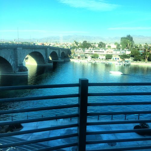 Lake Havasu City Lake Havasu Arizona Lobdon Bridge