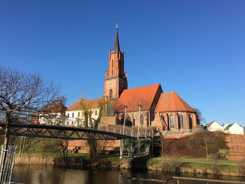 Rathenow Architecture Architecture_collection Brandenburg City Blue Sky Vintage